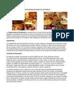 Gastronomia Regional de Guatemala