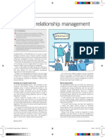 next leve relationship management - article for procurement leaders april 2013