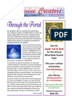 Divine Creators Newsletter - May 2013