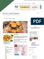 Receitas Supreme – Receita de cupcakes salgados
