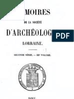 Mémoires de la Société d'archéologie lorraine (1859)