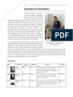 List of Nobel Laureates in Literature (1) en Wikipedia Org