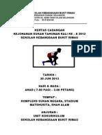 Kertas Cadangan Sukan Tahunan Kali Ke 8 2012 Skbr (Baru)