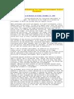 Six Sigma Methodology for Software Development