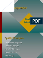 Quality Principles in Software Development