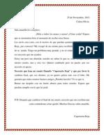 Carta de Caperucita