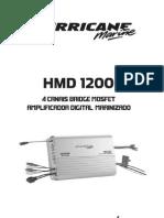 Amplificador Marinizado HMD 1200
