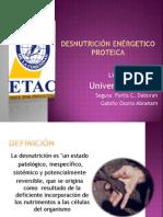 Desnutrición enérgetico proteica