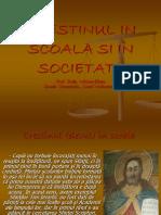 Crestinul in Scoala Si in Societate