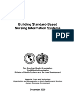 Standard-based Nursing Information Systems