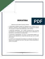 Dedicatoria Del Trabajo Petroleo y Contaminacion Acuatica
