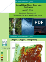CRCL Morning Plenary TMDLs and Water Quality Trading
