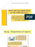 3.What Was the Significance of the 1959 Election