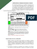 Normas de uso impresora