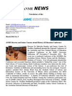 Anme News No 5 March 2013
