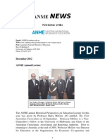 ANME News No.4 December 2012