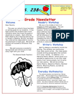 2nd Grade Newsletter April 09