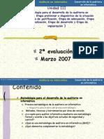 Unidad III -Desarrollo de la auditoria en informática-