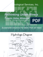 Workshop C Rethinking Urban Rivers from DAllas, Toronto and Beyond Tom Hunt