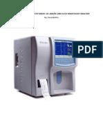 Pemeriksaan Kuantitatif Darah (blood analyzer)