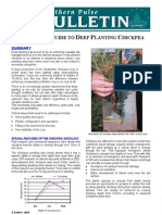 A Growers Guide to Deep Planting Chickpea