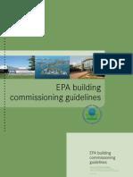 EPA Building Commissioning Guidelines, Appendix B
