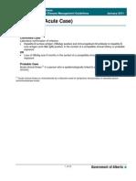 Guidelines Hepatitis B Acute Case 2011
