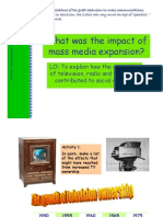 9.What Was the Impact of Mass Media Expansion