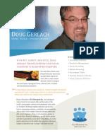 Doug Gerlach, Public Speaker Available for Events