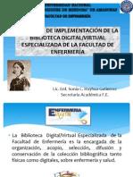 PROYECTO DE IMPLEMENTACIÓN DE LA BIBLIOTECA DIGITAL ESPECIALIZADA2