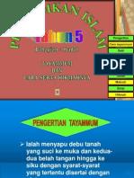 BBM Tayamum Thn 5 2010