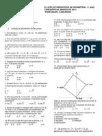2listadeexerccios3ano-geometriaanaltica-110310090953-phpapp02