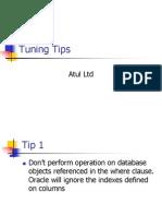 SQL Tuning Tips