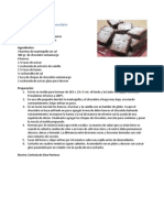 Brownies Con Doble Chocolate