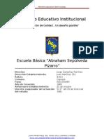 Proyecto Educativo Institucional.2013