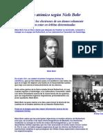 Modelo atómico según Niels Bohr