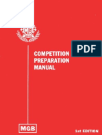 MGB Competition Preparation Manual