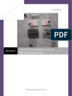 Conexión inalámbrica entre dos Microcontroladores