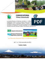 Congreso_SOMAS-2013 Agricultura Sostenible