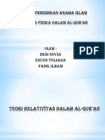 Seminar Pendidikan Agama Islam Fenomena Fisika dalam Al-Qur'an