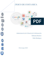 Caso Google - Dahianna Ramírez - Pablo Rodríguez