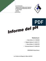 Informe Del pH