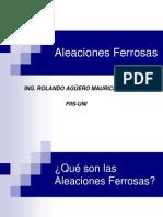 Aleaciones Ferrosas 2