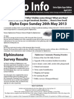 Elpho Expo, volume 57 and a half, Elpho Expo Extra Edition, April 2013