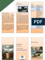 Triptico Proyecto Biblioteca
