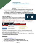 DS 160 NIV Instructions IYLEP World Learning