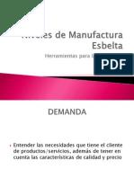 Niveles de Manufactura Esbelta