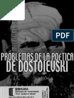 55933546 Problemas de La Poetica de Dostoievski