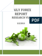 Forex Report 02 May 2013
