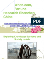 Dfrshenzhen.com, Dalian Fortune Research Shenzhen China - Exploring Knowledge Economy and Society in Asia